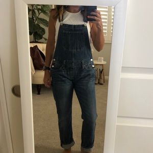 Overalls. Blue. Denim. Lucky Brand.